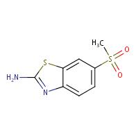 2-Amino-6-(methylsulfonyl)benzothiazol