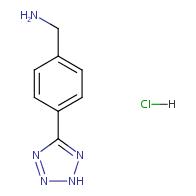 4-(2H-Tetrazol-5-yl)benzylamine Hydrochloride