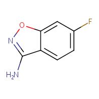 6-Fluorobenzo[d]isoxazol-3-ylamine