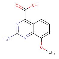2-amino-8-methoxyquinazoline-4-carboxylic acid
