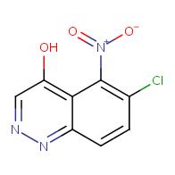 6-chloro-5-nitrocinnolin-4-ol