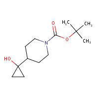 tert-Butyl 4-(1-hydroxycyclopropyl)piperidine-1-carboxylate