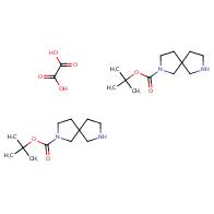 tert-butyl 2,7-diazaspiro[4.4]nonane-2-carboxylate hemioxalate