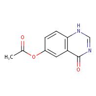 4-Oxo-1,4-dihydroquinazolin-6-yl acetate