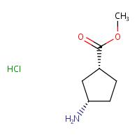 methyl (1R,3S)-3-aminocyclopentane-1-carboxylate hydrochloride
