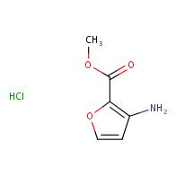 methyl 3-aminofuran-2-carboxylate hydrochloride