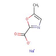 sodium 5-methyl-1,3-oxazole-2-carboxylate