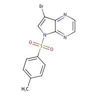 7-bromo-5-(4-methylbenzenesulfonyl)-5H-pyrrolo[2,3-b]pyrazine