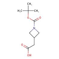 2-{1-[(tert-butoxy)carbonyl]azetidin-3-yl}acetic acid