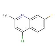 4-Chloro-7-fluoro-2-methylquinoline