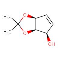 (3aR,4R,6aS)-2,2-dimethyl-2H,3aH,4H,6aH-cyclopenta[d][1,3]dioxol-4-ol