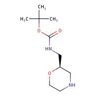 tert-butyl N-[(2R)-morpholin-2-ylmethyl]carbamate