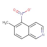 6-methyl-5-nitroisoquinoline