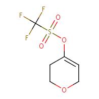 3,6-dihydro-2H-pyran-4-yl trifluoromethanesulfonate