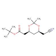 tert-Butyl 2-((4S,6S)-6-(cyanomethyl)-2,2-dimethyl-1,3-dioxan-4-yl)acetate