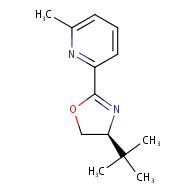 (S)-4-(tert-butyl)-2-(6-methylpyridin-2-yl)-4,5-dihydrooxazole