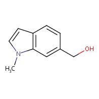 1H-Indole-6-methanol,1-methyl-