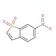 6-nitro-1-benzothiophene 1,1-dioxide