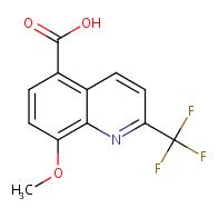 8-methoxy-2-(trifluoromethyl)quinoline-5-carboxylic acid