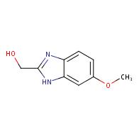 1H-Benzimidazole-2-methanol,6-methoxy-