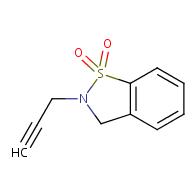 1,2-Benzisothiazole,2,3-dihydro-2-(2-propyn-1-yl)-,1,1-dioxide