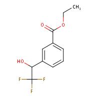Ethyl 3-(2,2,2-Trifluoro-1-hydroxyethyl)benzoate