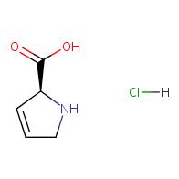 (S)-2,5-dihydro-1H-pyrrole-2-carboxylic acid hydrochloride