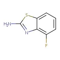 2-Amino-4-fluorobenzothiazole