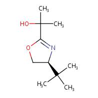 (S)-2-(4-(tert-Butyl)-4,5-dihydrooxazol-2-yl)propan-2-ol