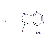 5-bromo-7H-pyrrolo[2,3-d]pyrimidin-4-amine hydrobromide