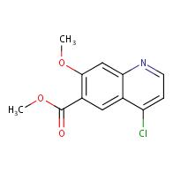 methyl 4-chloro-7-methoxyquinoline-6-carboxylate