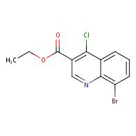 ethyl 8-bromo-4-chloroquinoline-3-carboxylate