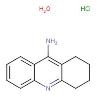 9-Amino-1,2,3,4-tetrahydroacridine hydrochloride hydrate
