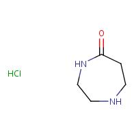 1,4-diazepan-5-one hydrochloride