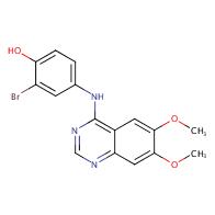 2-Bromo-4-((6,7-dimethoxyquinazolin-4-yl)amino)phenol