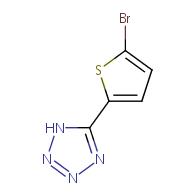 5-(5-Bromothiophen-2-yl)-1H-tetrazole