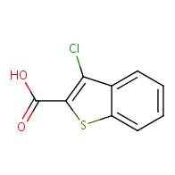 3-Chlorobenzo[b]thiophene-2-carboxylic acid