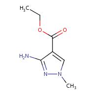 ethyl 3-amino-1-methyl-1H-pyrazole-4-carboxylate