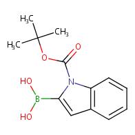 1-(tert-butoxycarbonyl)-1H-indol-2-yl-2-boronic acid