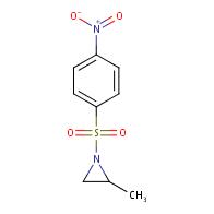 2-methyl-1-((4-nitrophenyl)sulfonyl)aziridine