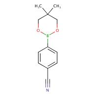 4-(5,5-Dimethyl-1,3,2-dioxaborinan-2-yl)benzonitrile