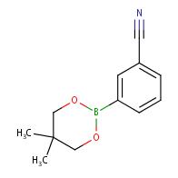 3-(5,5-Dimethyl-1,3,2-dioxaborinan-2-yl)benzonitrile