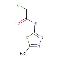 2-chloro-N-(5-methyl-1,3,4-thiadiazol-2-yl)acetamide
