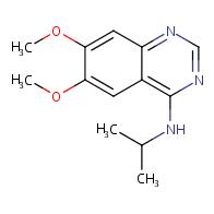 N-isopropyl-6,7-dimethoxyquinazolin-4-amine