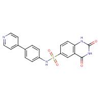 2,4-Dioxo-N-[4-(4-pyridyl)phenyl]-1H-quinazoline-6- sulfonamide