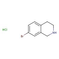 7-bromo-1,2,3,4-tetrahydroisoquinoline hydrochloride