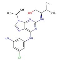 (R)-2-((6-((3-Amino-5-chlorophenyl)amino)-9-isopropyl- 9H-purin-2-yl)amino)-3-methylbutan-1-ol