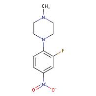 1-(2-fluoro-4-nitrophenyl)-4-methylpiperazine