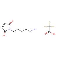 1-(5-aminopentyl)-1H-pyrrole-2,5-dione 2,2,2-trifluoroacetate