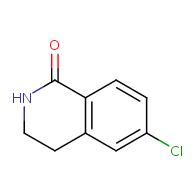 1(2h)-isoquinolinone, 6-chloro-3,4-dihydro-
